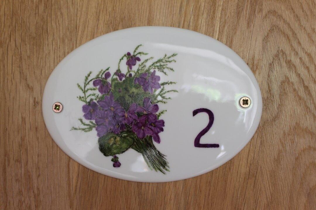 "Visiter la chambre ""Violette"""